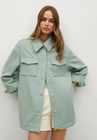 Mango - CAKE - Button-down blouse - mint green - 0