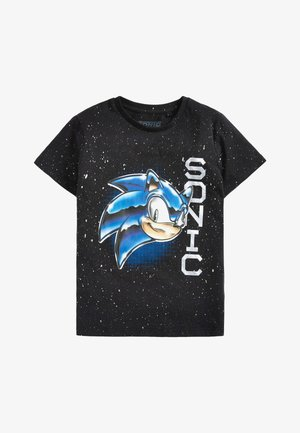 SONIC THE HEDGEHOG T-SHIRT - Print T-shirt - black