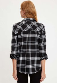 DeFacto - Button-down blouse - black - 1