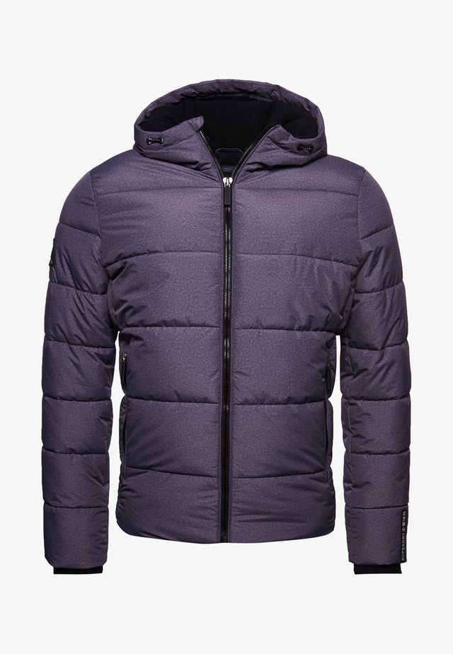 SPORTS PUFFER - Winter jacket - black marl