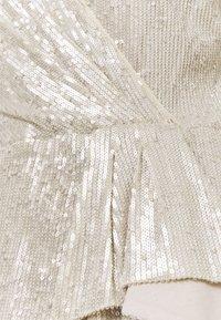 Lauren Ralph Lauren - MILLBROOK DRESS - Koktejlové šaty/ šaty na párty - silver frost shin - 6
