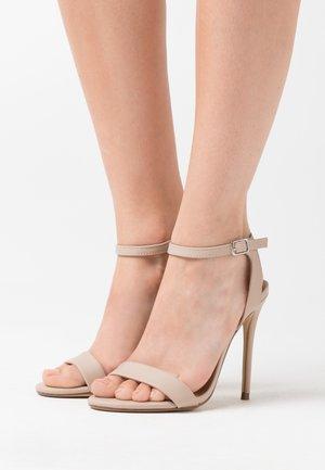 URBAN STILETTO  - Sandály na vysokém podpatku - oatmeal