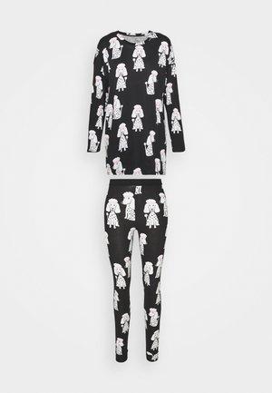 NIGHT SET SOU ZOE - Pyjamas - black