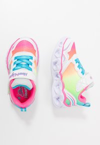 Skechers - HEART LIGHTS - Trainers - white/multicolor - 1