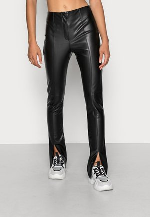 GINNY TROUSERS - Trousers - black
