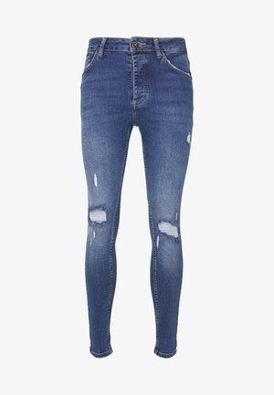 NARIS MID WASH  - Slim fit jeans - blue