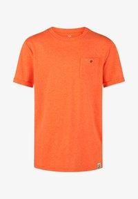 WE Fashion - WE FASHION JONGENS NEON T-SHIRT - T-shirt basic - orange - 2