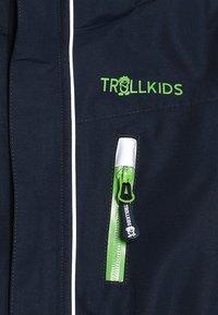TrollKids - KIDS ISFJORD SNOWSUIT - Lyžařská kombinéza - navy/green - 6
