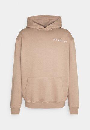 ESSENTIAL HOODIE UNISEX - Sweatshirt - sand