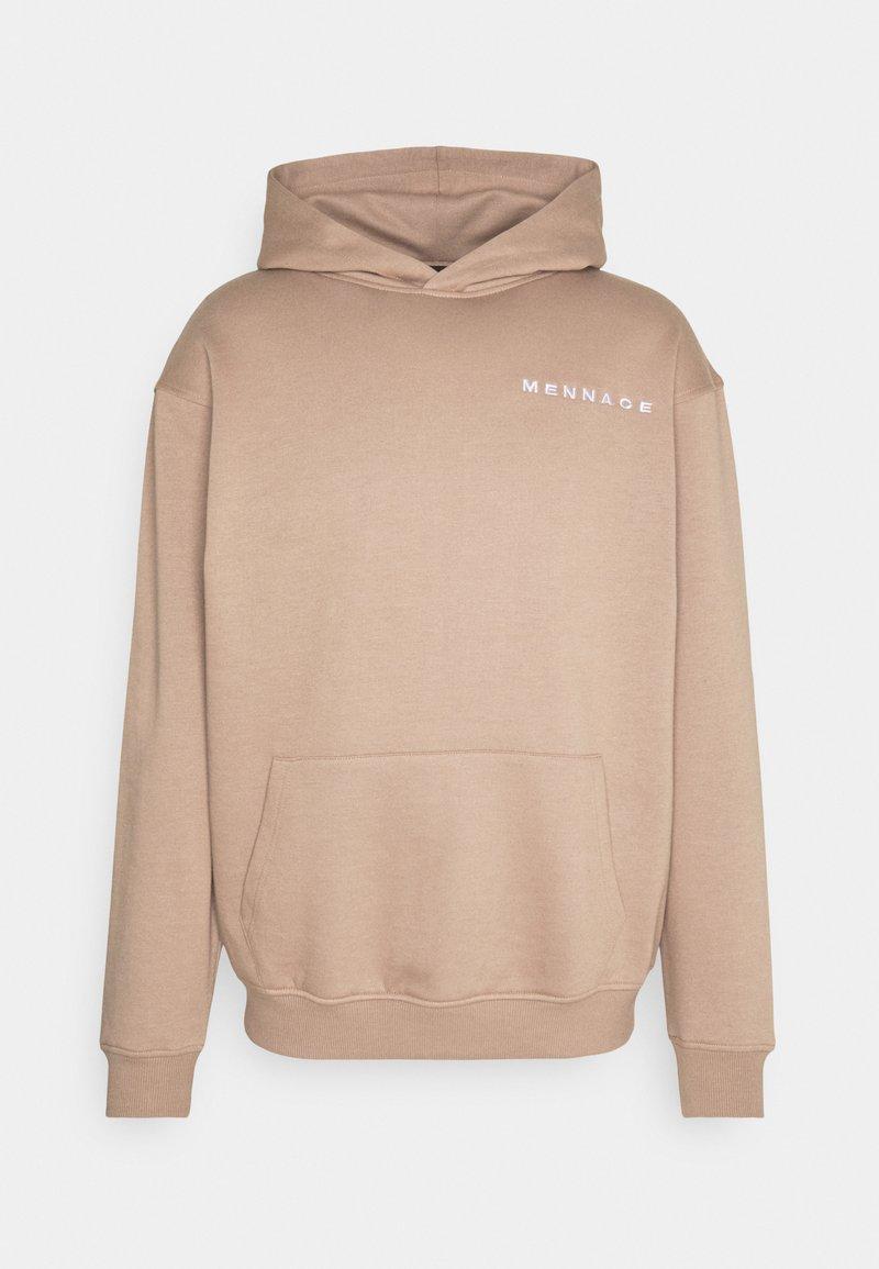 Mennace - ESSENTIAL HOODIE UNISEX - Sweatshirt - sand