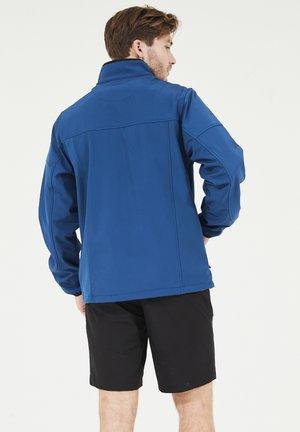 DUBLIN - Soft shell jacket - poseidon
