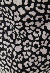 Bershka - Jersey dress - black - 5