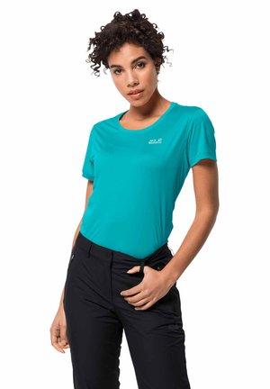 TECH T W - Sports shirt - aquamarine