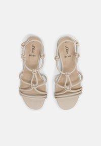 s.Oliver - Sandals - cream - 4