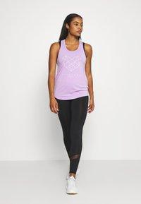 Pink Soda - SHADOW TANK - Sports shirt - lilac - 1