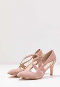 Anna Field - LEATHER CLASSIC HEELS - Classic heels - rose - 4