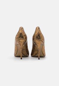San Marina - GALICIA BIUTA - High heels - camel/or - 3