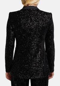 Esprit Collection - MIT PAILLETTEN - Blazer - black - 7