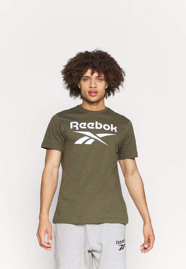 RI BIG LOGO TEE - T-shirt con stampa - army green