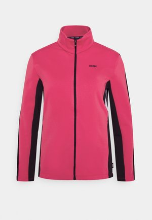 LADIES - Fleecejacke - frozen berry/black