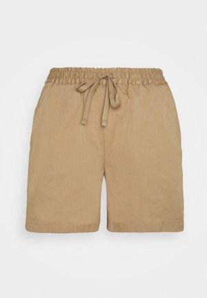 JESSA - Shorts - muddy brown