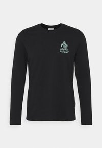 YOURTURN - UNISEX - Long sleeved top - black - 3