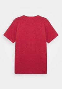 Quiksilver - SCREEN TEE - Print T-shirt - american red - 1