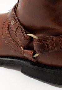 Harley Davidson - SCOUT - Cowboy/biker ankle boot - rust - 5
