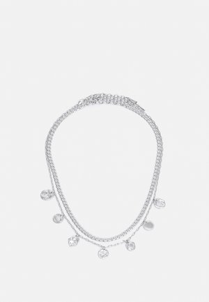 NECKLACE POESY 2 PACK - Collar - silver-coloured