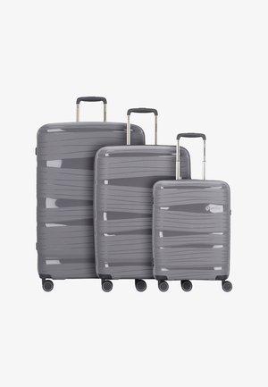 KOFFERSET 3 TLG - Luggage set - anthracite