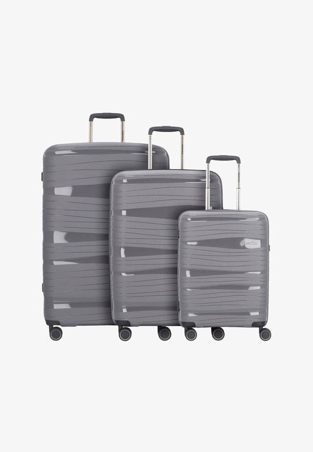 KOFFERSET 3 TLG - Set de valises - anthracite