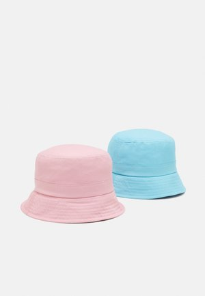 NKNBOBBY HAT 2 PACK UNISEX - Hat - blue tint/silver pink