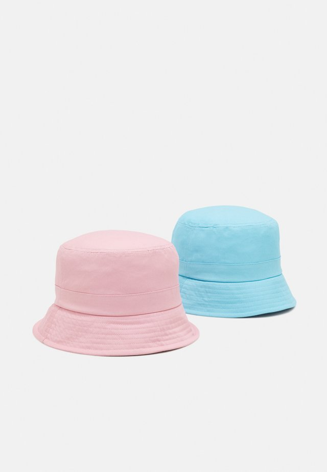 NKNBOBBY HAT 2 PACK UNISEX - Cappello - blue tint/silver pink