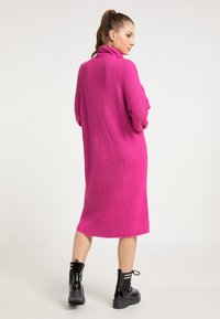 myMo - Jumper dress - fuchsia - 2
