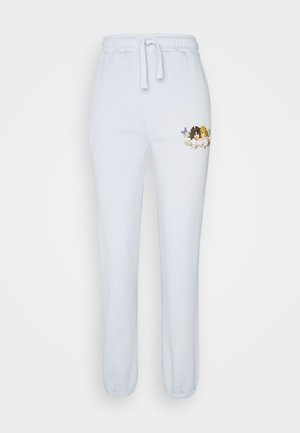 WOODLAND VINTAGE ANGELS PATCH JOGGER  - Pantalones deportivos - grey