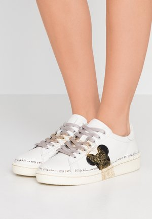Zapatillas - granmaster white/gold glitter