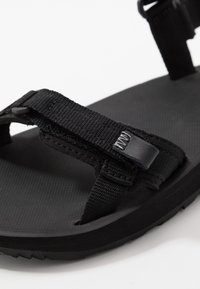 Jack Wolfskin - OUTFRESH - Walking sandals - black/light grey - 5