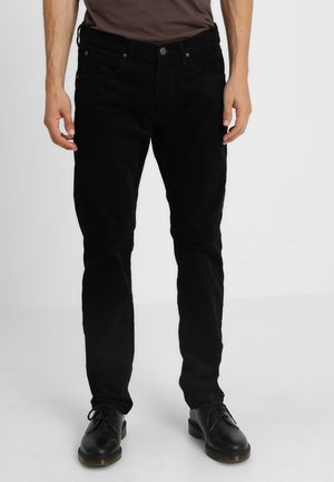 DAREN ZIP FLY - Tygbyxor - black
