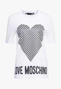Love Moschino - T-shirt print - optical white - 3