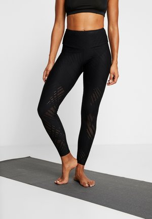 SELENITE MIDI - Leggings - black