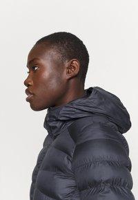 Salomon - SIGHT STORM HOODIE  - Winter coat - ebony - 4