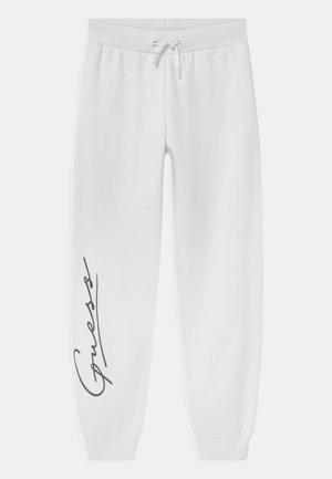 JUNIOR ACTIVE PANTS - Tracksuit bottoms - pure white