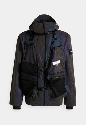 TECHNICAL 2 IN 1 UTILITY JACKET - Waistcoat - purple