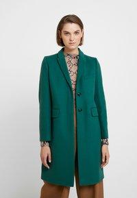 Benetton - CLASSIC TAILORED COAT - Kappa / rock - dark green - 0