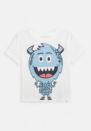 TODDLER BOY - Camiseta estampada - new off white