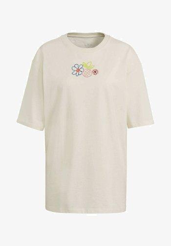ADICOLOR ESSENTIALS T-SHIRT - T-Shirt print - white