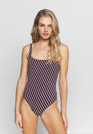 BEACHSUIT - Swimsuit - blauschwarz