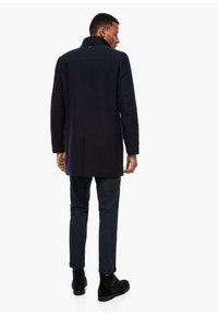 s.Oliver BLACK LABEL - STEHKRAGEN - Short coat - dark blue - 2