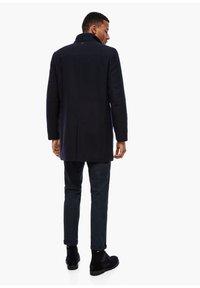 s.Oliver BLACK LABEL - STEHKRAGEN - Halflange jas - dark blue - 2