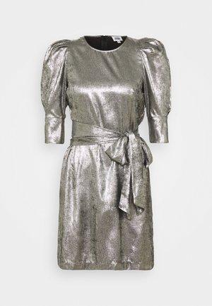 EDIE DRESS - Cocktail dress / Party dress - silver metallic
